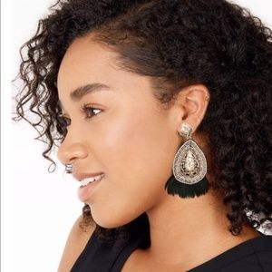 Stella & Dot Jewelry - Stella & Dot Constantine Feather Chandeliers